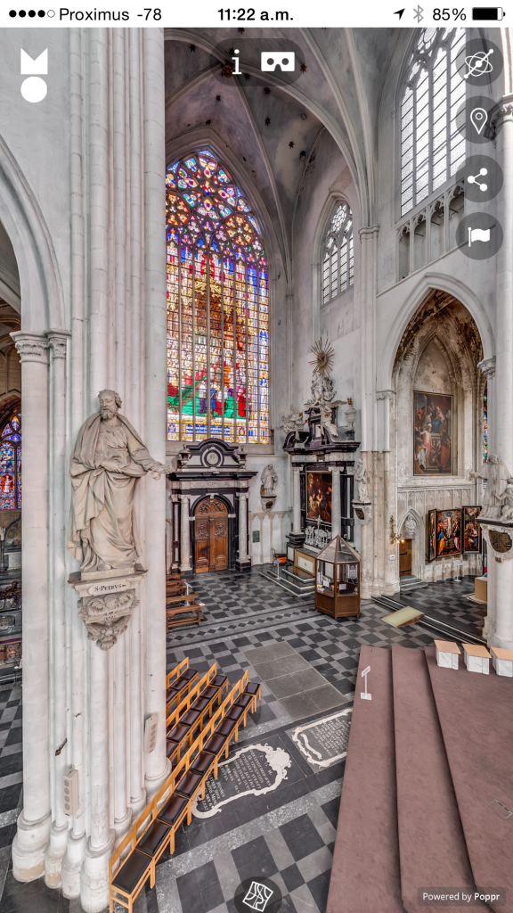 Virtual Tour Virtual Reality Sint-Romboutskathedraal Mechelen