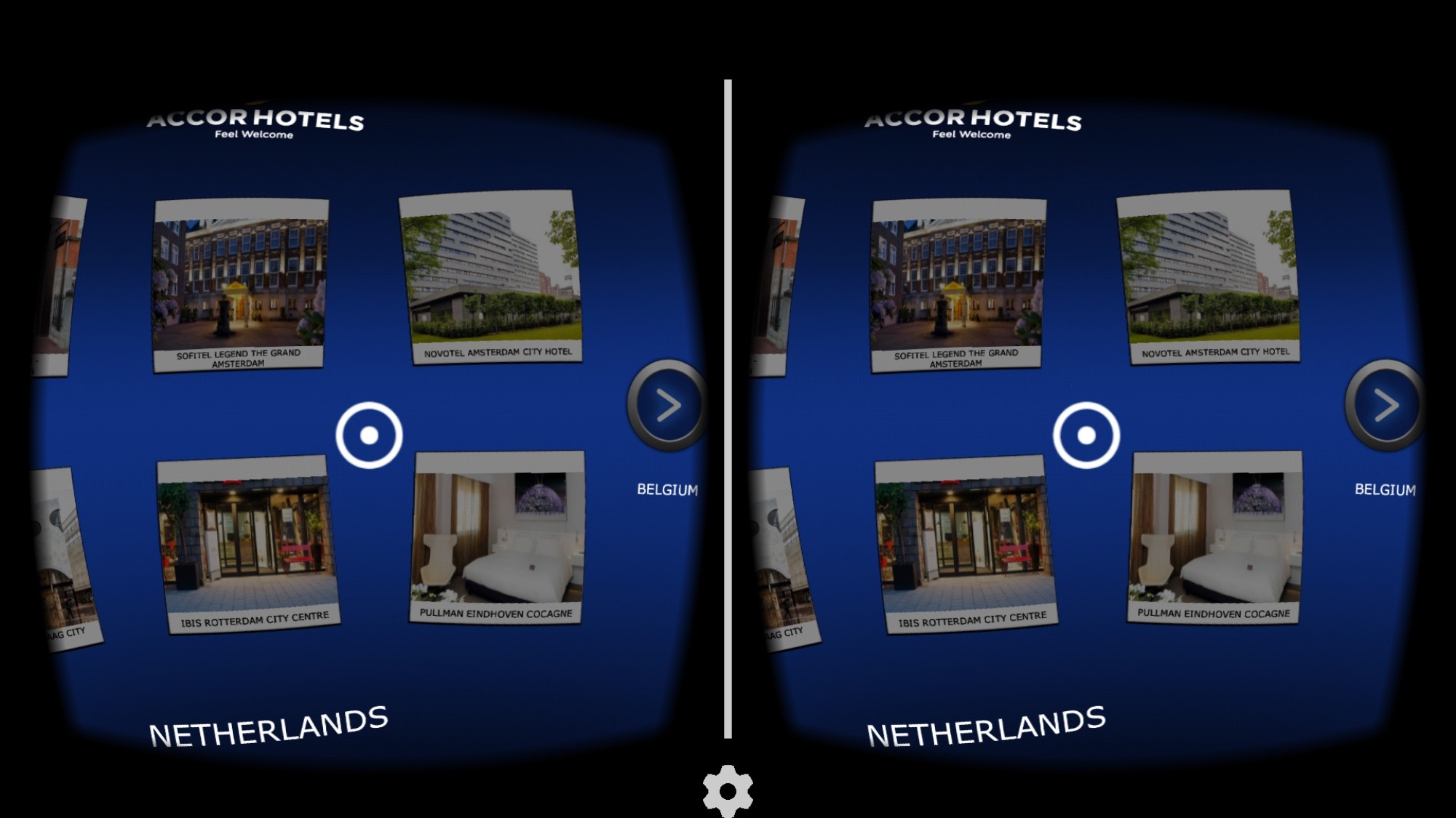 AccorHotels Google Cardboard