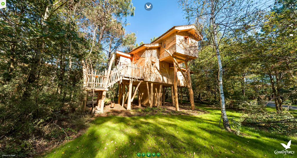 Virtual-Tour-Center-Parcs-Le-Bois-aux-Daims---Tree-House