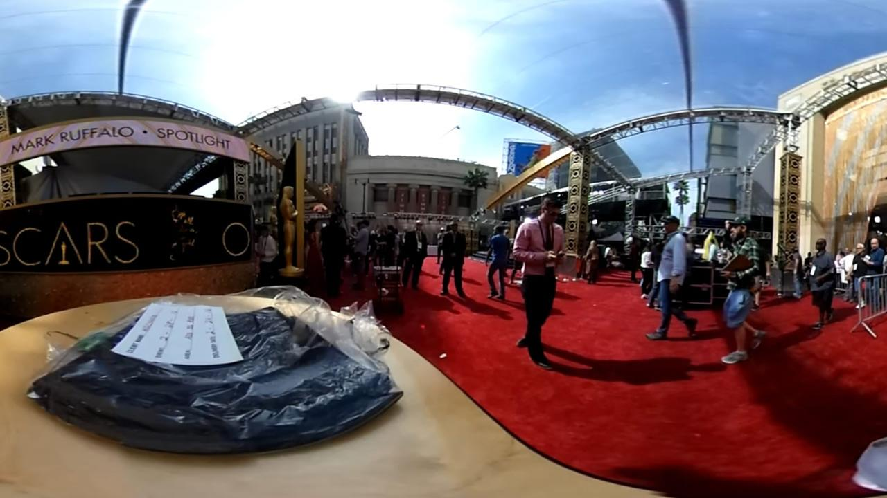 Oscars 2016 ... in 360°