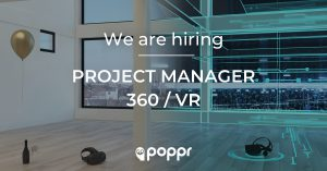 vacature digital project manager 360 virtual reality gent