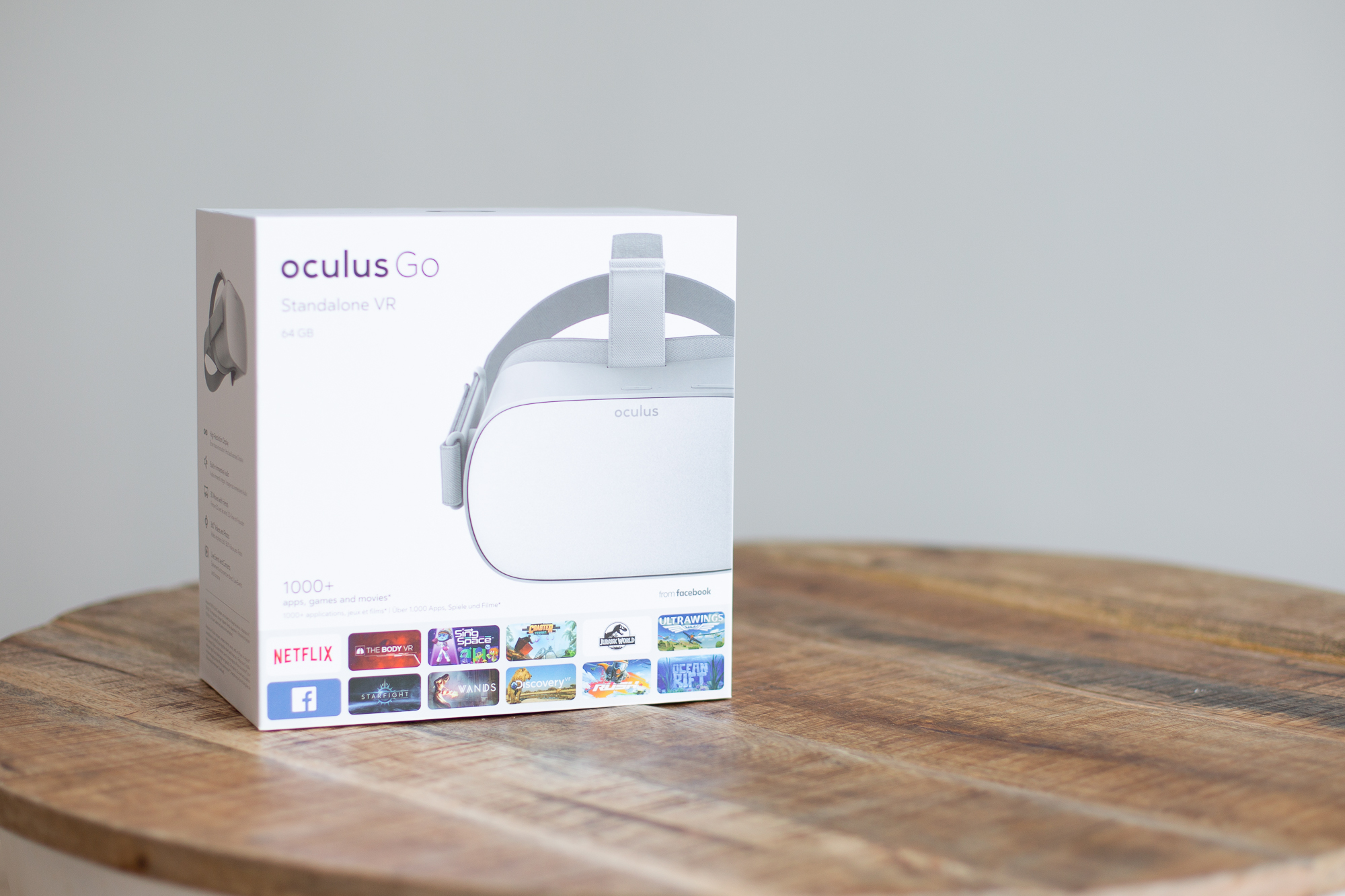 Oculus Go packaging