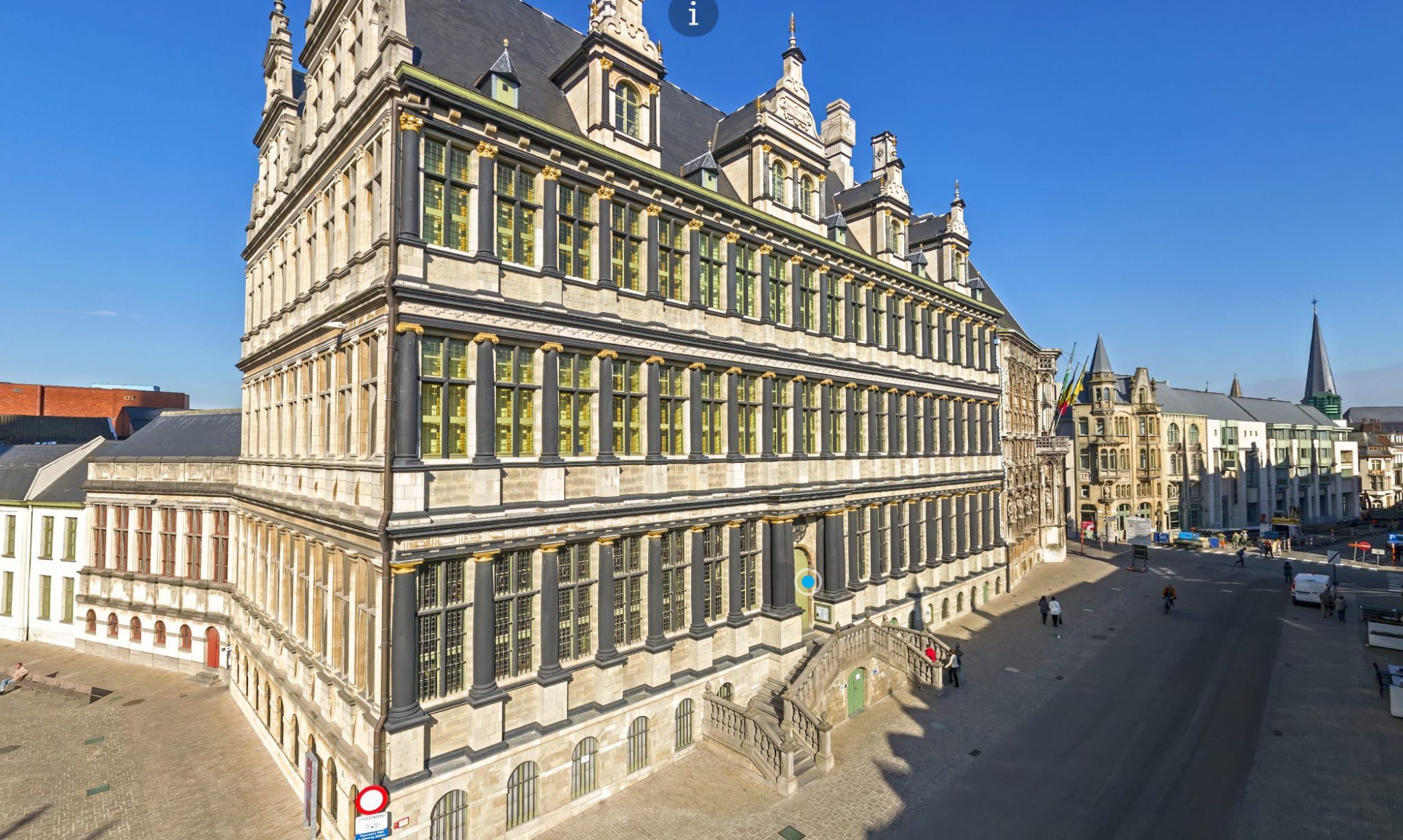 City hall ghent in 360 vr · ar vr & 360 tours · poppr