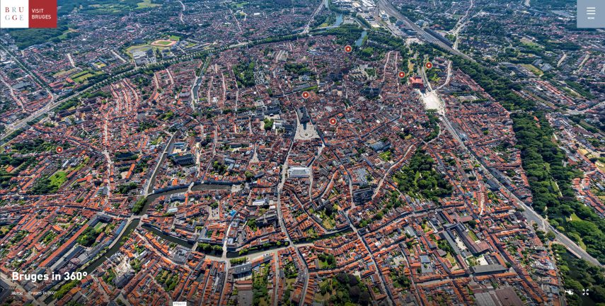 Virtual Bruges 360 virtual tour Bruges