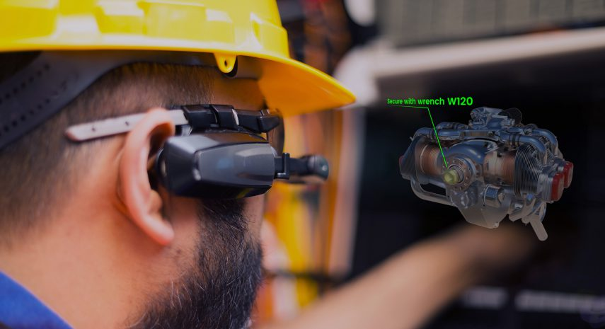 Augmented Reality in the Industry and Service Management
