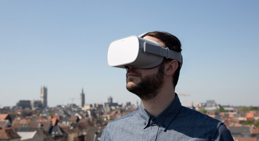 Interview in Data News: Virtual Reality for Companies – Strong Content Surpasses the Gimmick